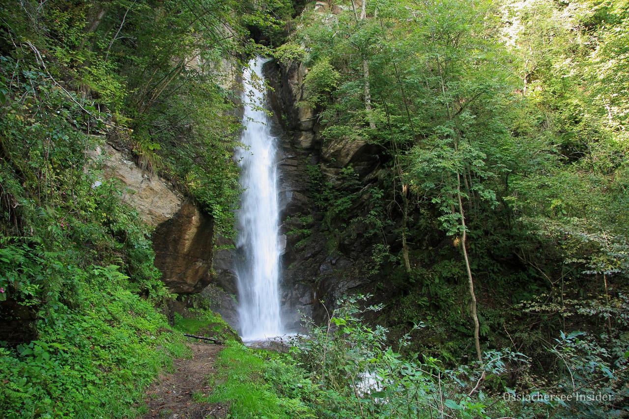 Naturerlebnis Finsterbach Wasserfälle Sattendorf