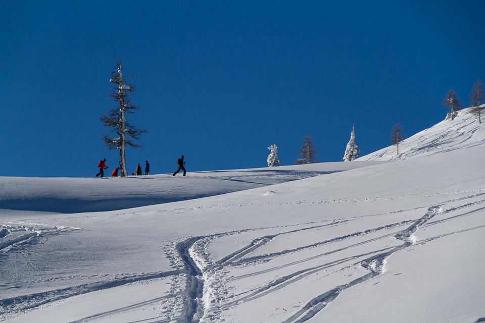 Winter im Naturpark Dobratsch