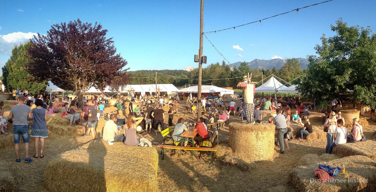 Ackern in Villach - das Fest im Sonnenblumenfeld