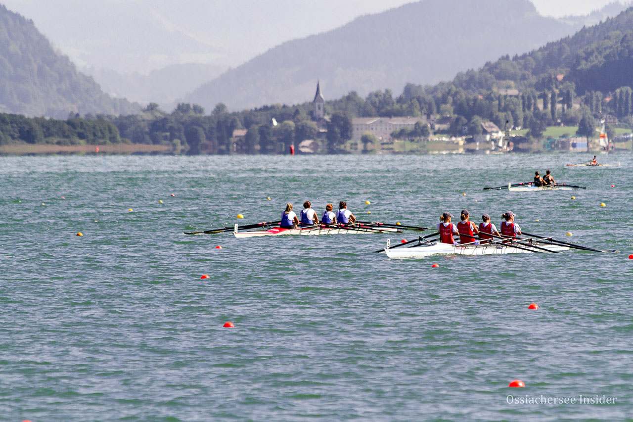 Internationale Ruder Regatta am Ossiacher See