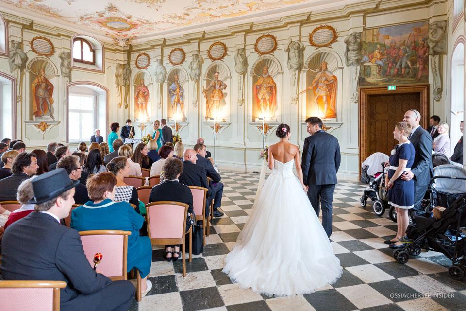 Standesamtliche Zeremonie im Rittersaal